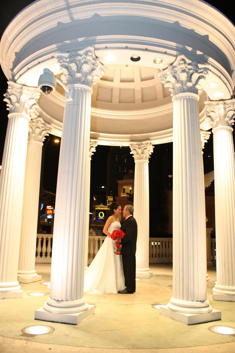 Lugares de la boda en Las Vegas NV